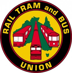 Rail Tram & Bus Union Logo